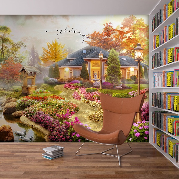 Wall Murals: Garden of dream