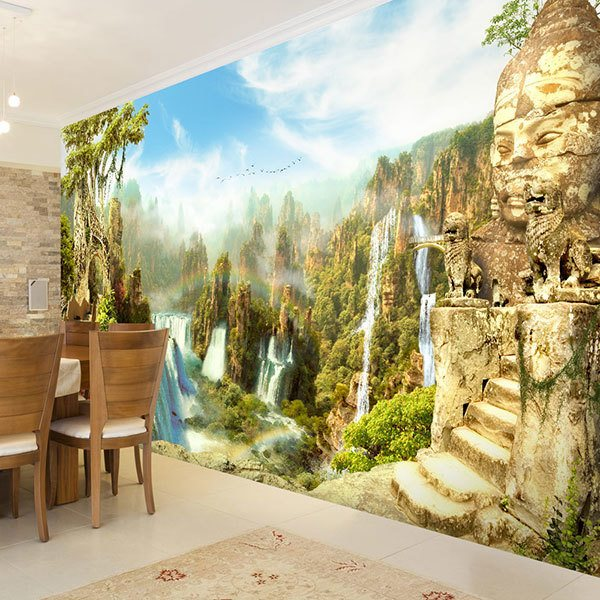 Wall Murals: The hidden valley