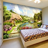 Wall Murals: Country paradise 2