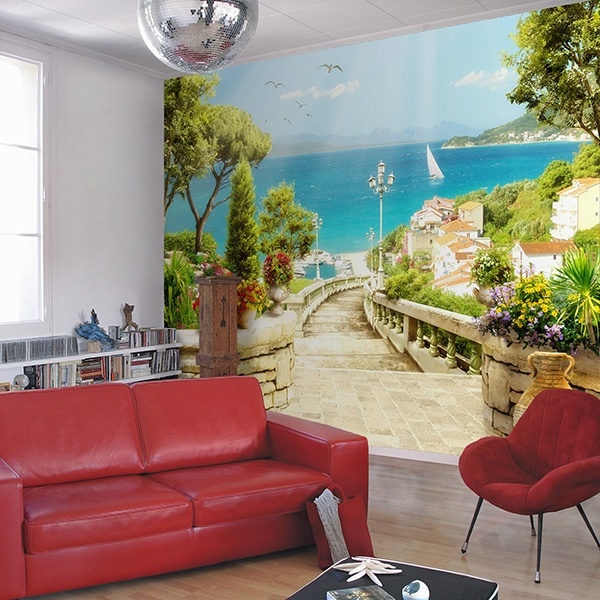 Wall Murals: Sea views