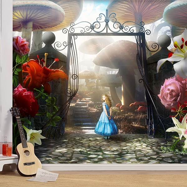 Wall Murals: Alice