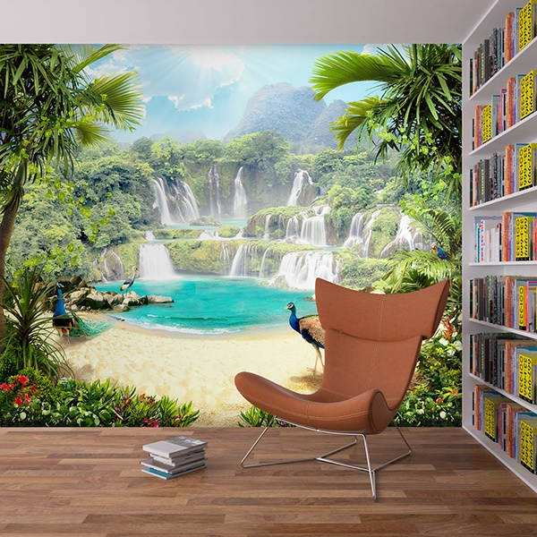 Wall Murals: Tropical paradise