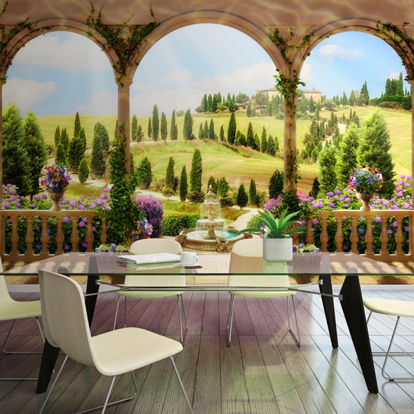 Wall Murals: Country landscape