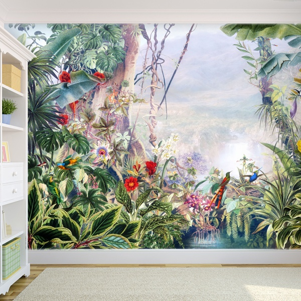 Wall Murals: Tropical rainforest