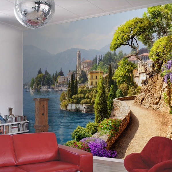 Wall Murals: Land of sea and sun
