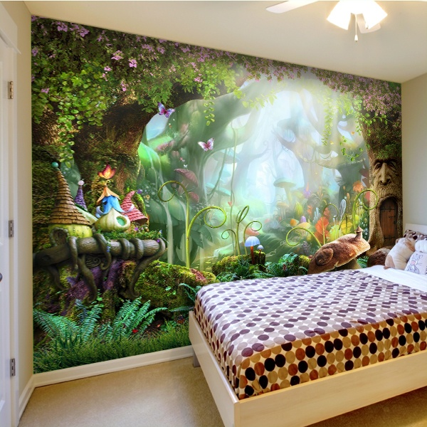 Wall Murals: Forest of fantasy