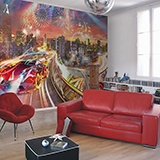 Wall Murals: Custom Car City 2