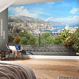 Wall Murals: Terrace in the harbor 2