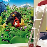 Wall Murals: Angry Birds Montain 2