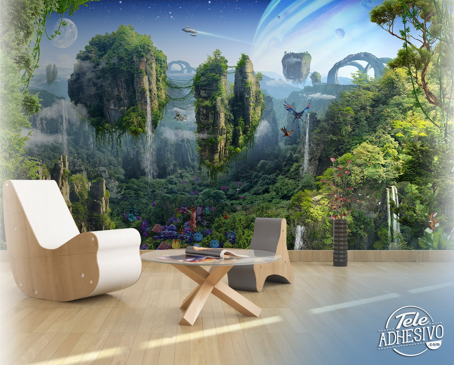 Wall Murals: Fantasy world