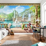 Wall Murals: Lions playground 2