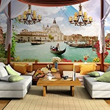 Wall Murals: The terrace of Venice 2