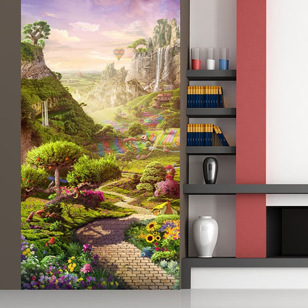 Wall Murals: Fantastic world