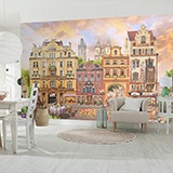 Wall Murals: Prague square 2