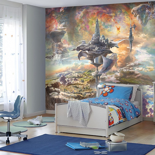 Wall Murals: Fantastic Castle