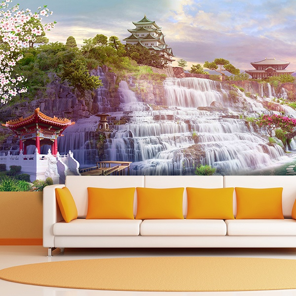 Wall Murals: Waterfall Japan 0