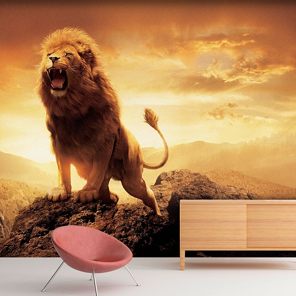 Wall Murals: the Lion King