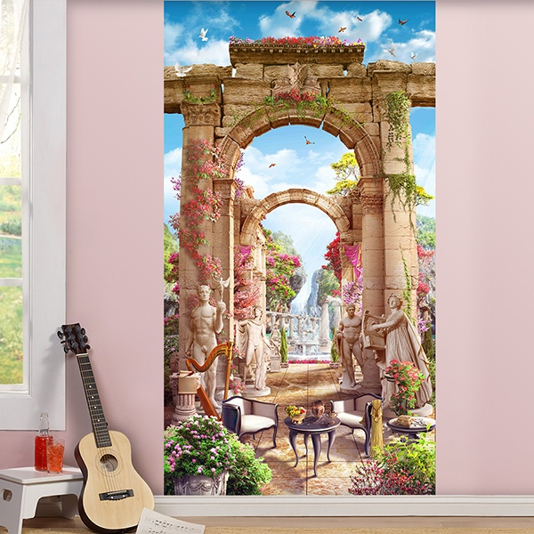 Wall Murals: Greek patio 0
