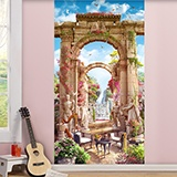 Wall Murals: Greek patio 2