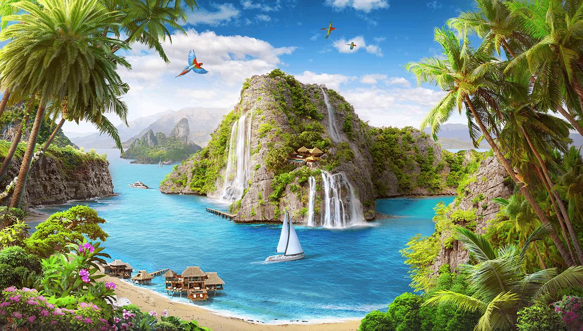 Райские острова красивые картинки