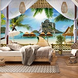 Wall Murals: Porch polynesia 2