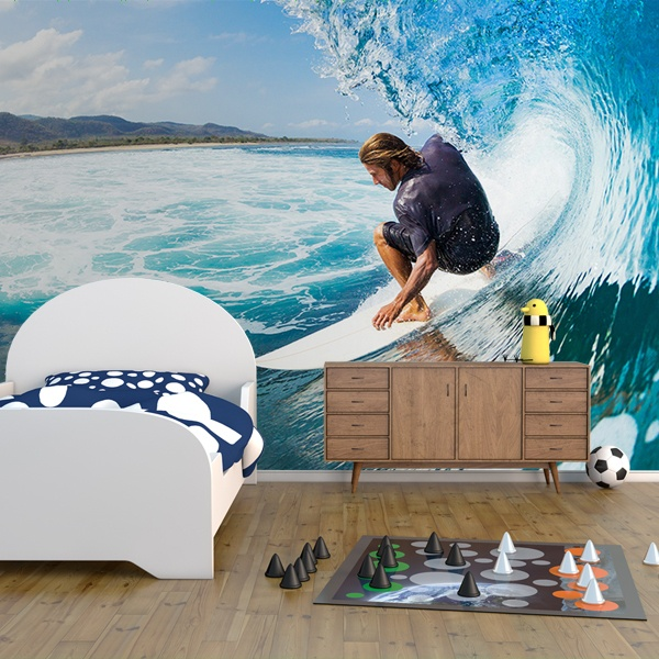 Wall Murals: Surfing