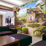 Wall Murals: Country house 2