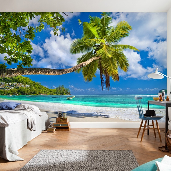 Wall Murals: Palm towards the sea