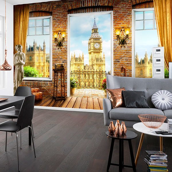 Wall Murals: Big Ben Balcony 0