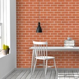 Wall Murals: Red brick texture 2