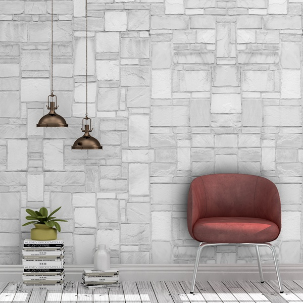 Wall Murals: Stone wall texture