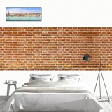 Wall Murals: Retro red brick texture 2