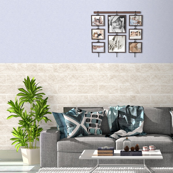 Wall Murals: Block texture of white granite 0