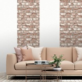 Wall Murals: Worn brick texture 2