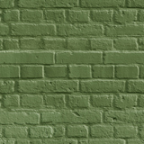 Wall Murals: Green brick texture 3