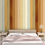 Wall Murals: Beach wood texture 2