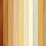 Wall Murals: Beach wood texture 3