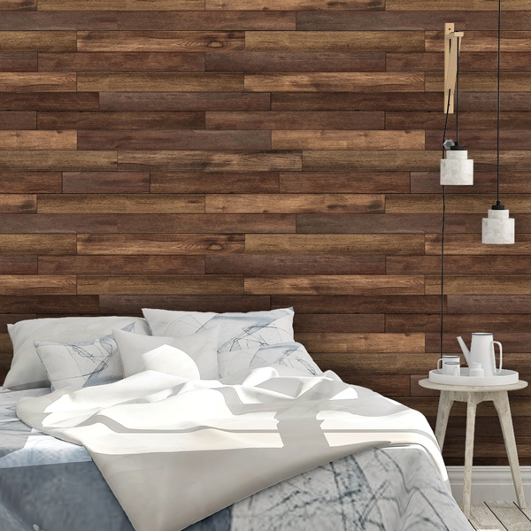 Wall Murals: Mountain wood texture