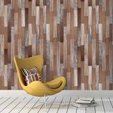 Wall Murals: Tropical wood texture 2