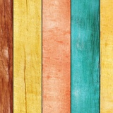 Wall Murals: Multicolored wood texture 3