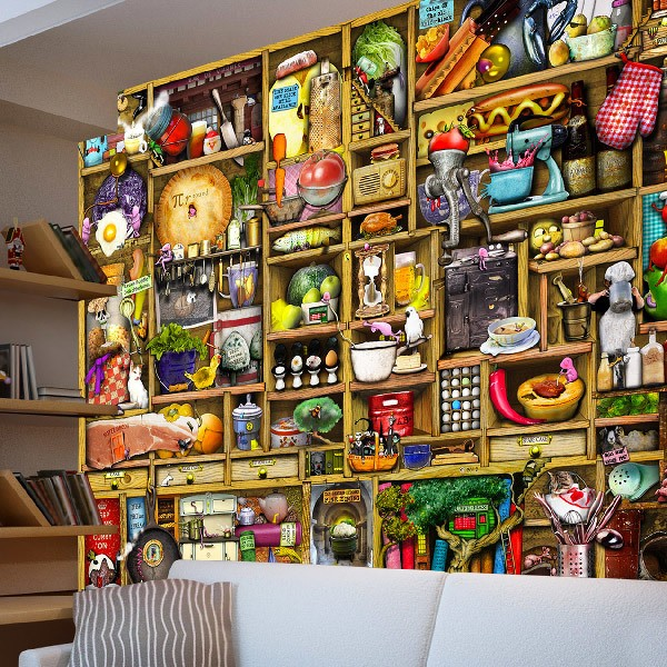 Wall Murals: Pottery
