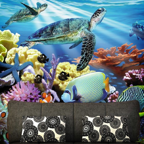 Wall Murals: Bottom of the sea
