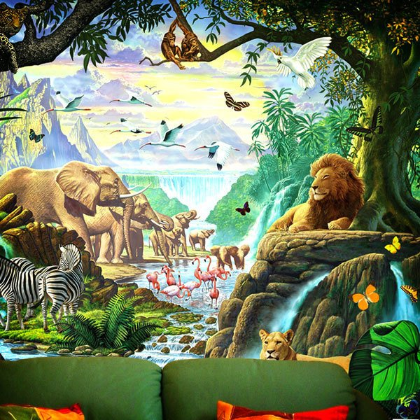 Wall Murals: Nature Jungle