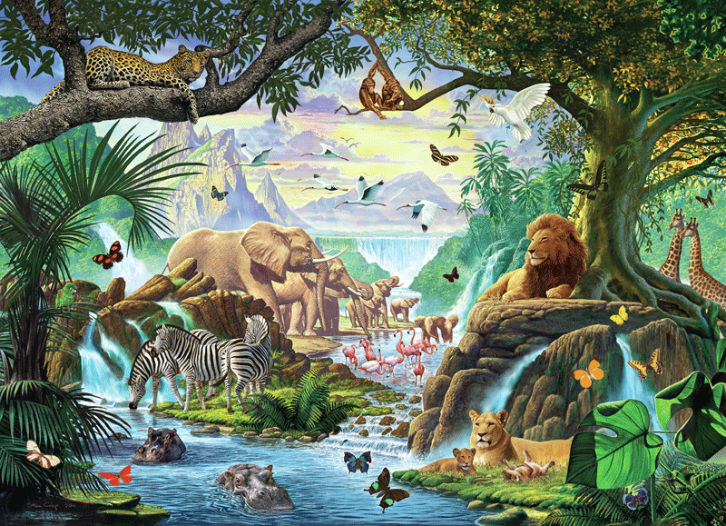 Wall Murals: Nature Jungle Part 67