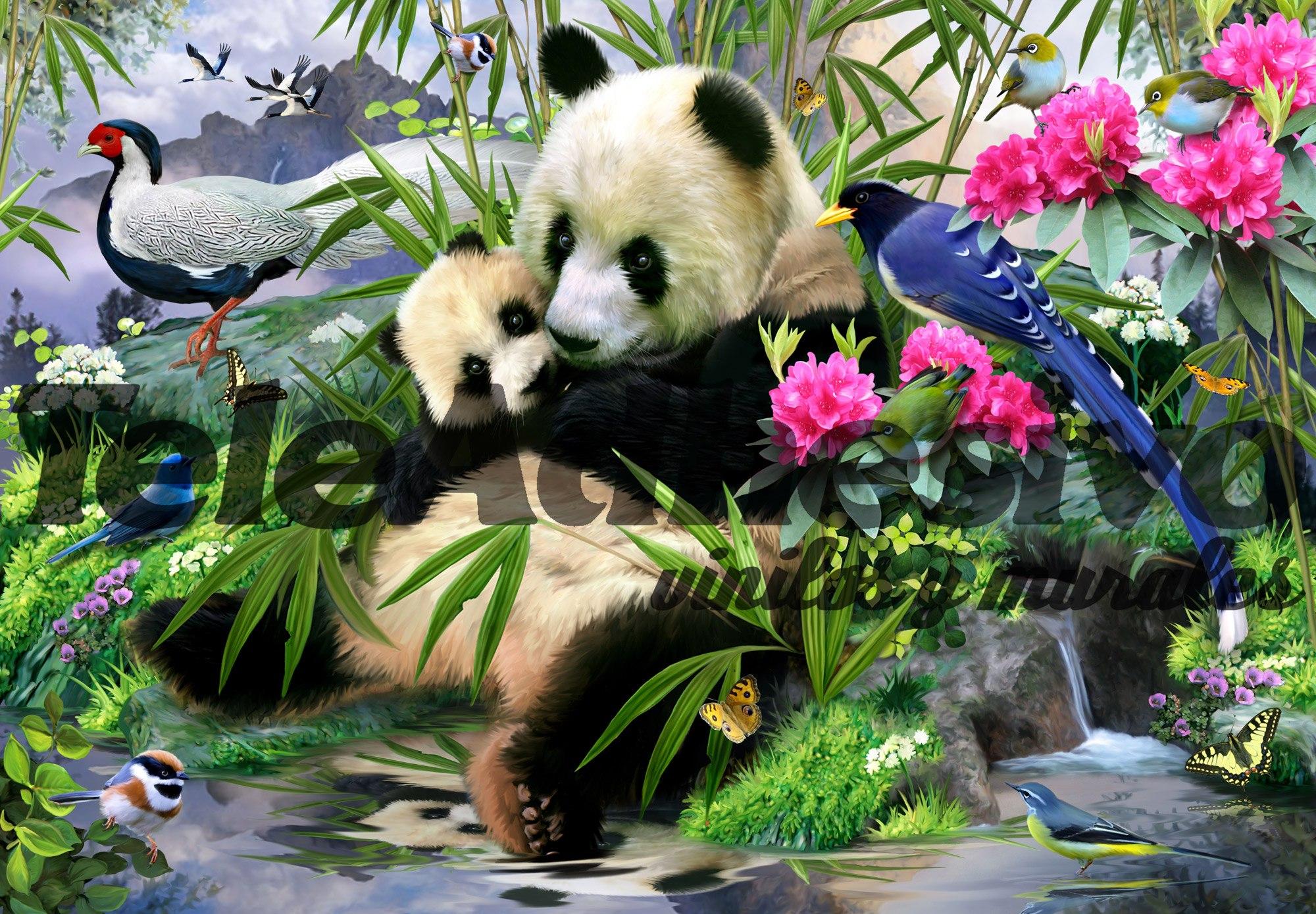 wall murals panda bear wall murals panda bear
