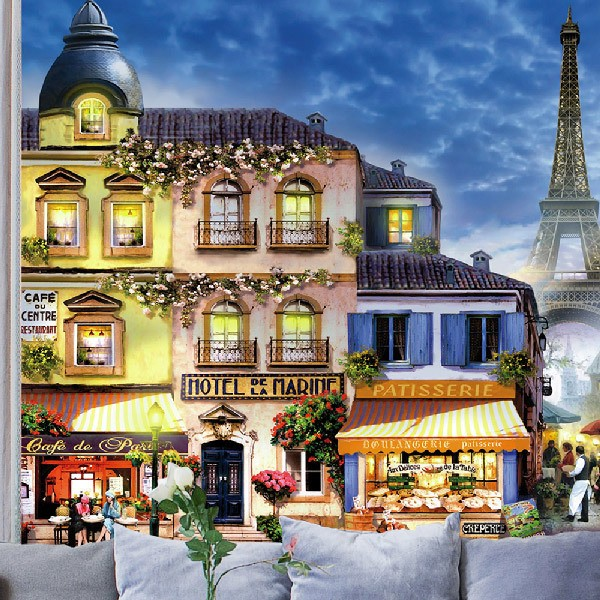 Wall Murals: Paris streets