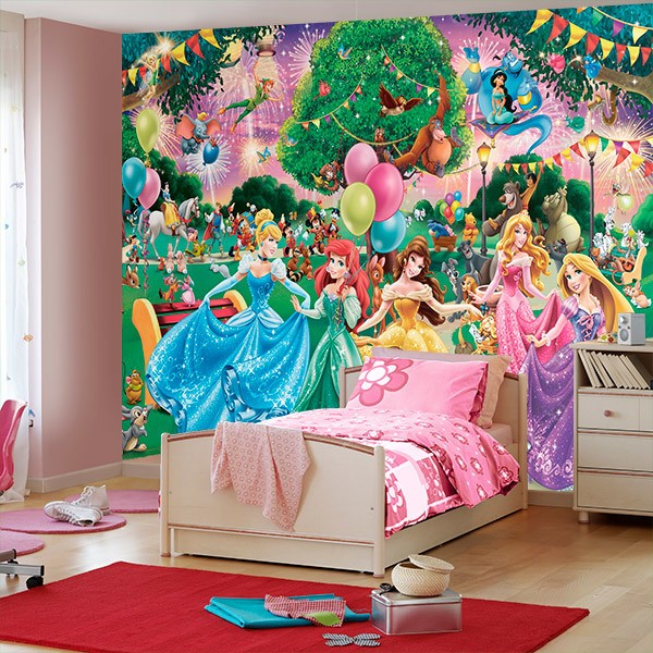 Wall Murals: Disney princesses