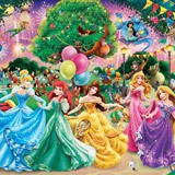 Wall Murals: Disney princesses 3