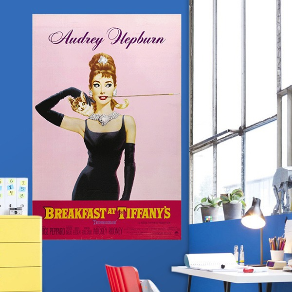 Wall Murals: Breakfast at Tiffany´s