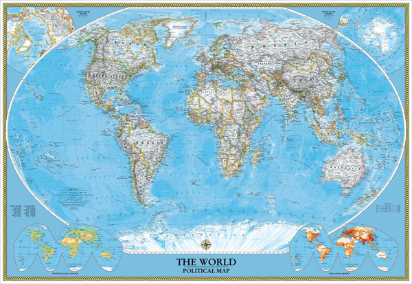 Current World Political Mapbr - Current world map